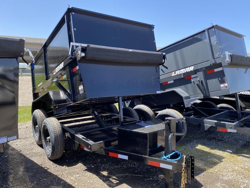 "2021 Lamar Trailers 60"" x 10' Tandem Axle 10K Dump Trailer"