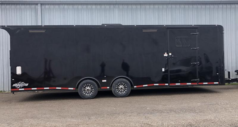 "2020 Cargo Craft 8.5x28"" Dragster Auto Carrier Enclosed Cargo Trailer"