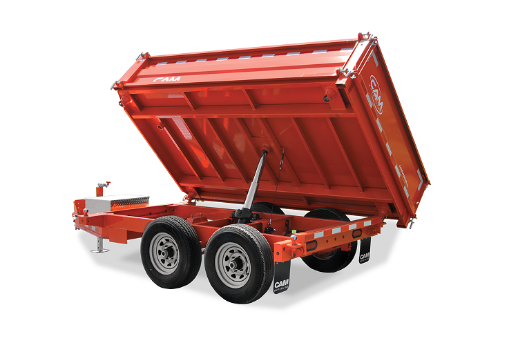 2020 Cam Superline P5CAM610TWD (5 Ton 3-Way Deckover Dump Trailer 6x10) Dump Trailer