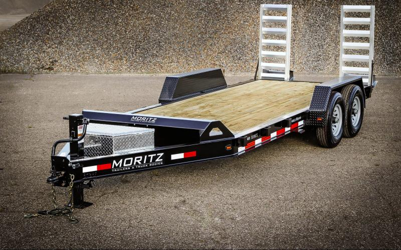 2021 Moritz International 20' Bumper Pull Equipment Trailer
