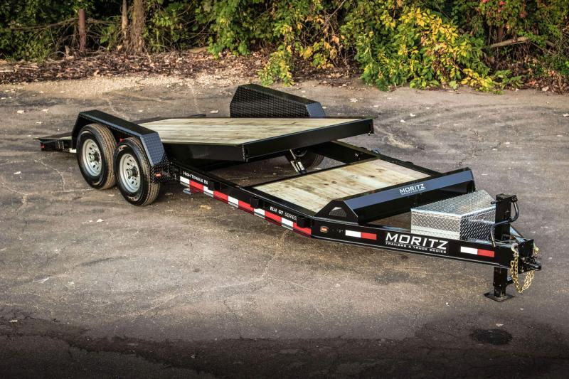2021 Moritz International 22' Bumper Pull Equipment Trailer