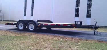2021 Roadway Utility 7X16 7K Dual Axle Trailer Equipment Trailer