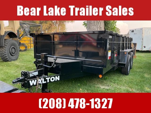 2020 Walton Trailers D1414SW Dump Trailer