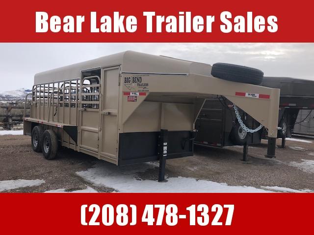 2021 Big Bend Stock trailer w/ tack box Livestock Trailer