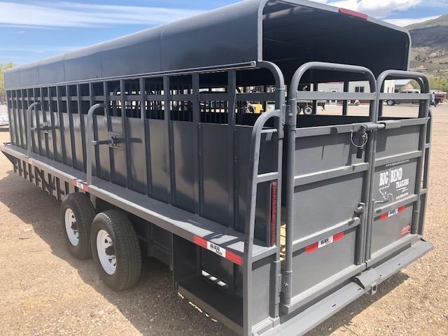 2021 Big Bend 24' Livestock Livestock Trailer