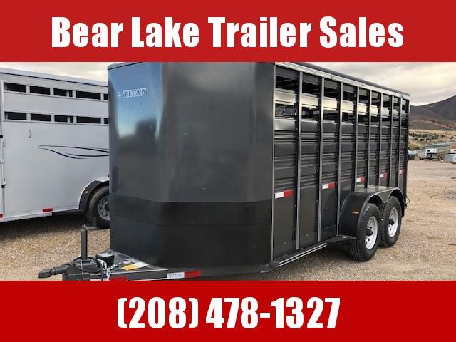 2021 Titan Trailers Standard Stock Livestock Trailer