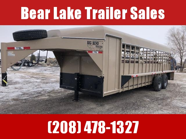 2021 Big Bend Stock combo Livestock Trailer