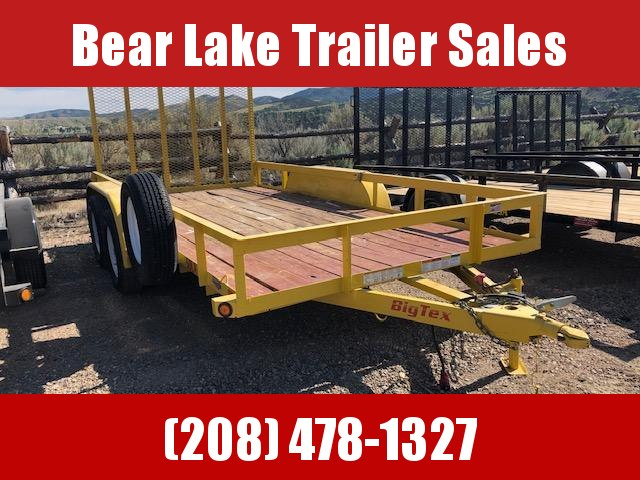 2018 Big Tex Trailers 50LA-14 Utility Trailer