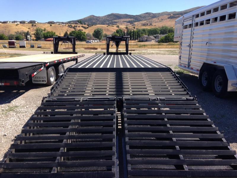 2020 Titan Trailers 20K Gooseneck Flatbed Flatbed Trailer