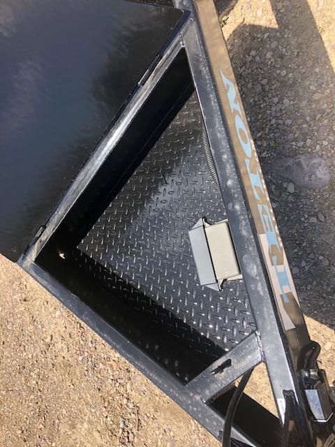2021 Teton Trailer 4+16 Tilt Deck Utility Trailer