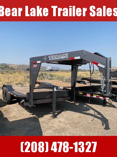 2020 Titan 20' Full Tilt Trailer