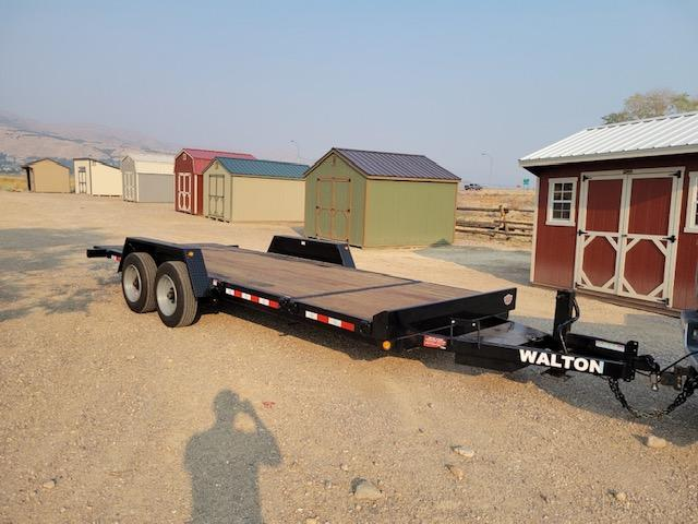 2022 Walton Trailers 4+16 Tilt Deck 16K Utility Trailer