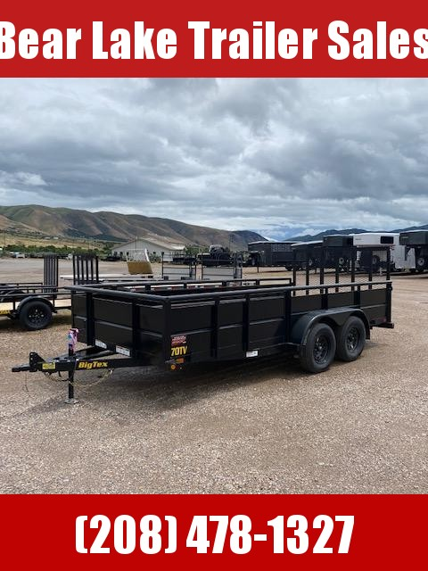 2021 Big Tex 70TV-16 Utility Trailer