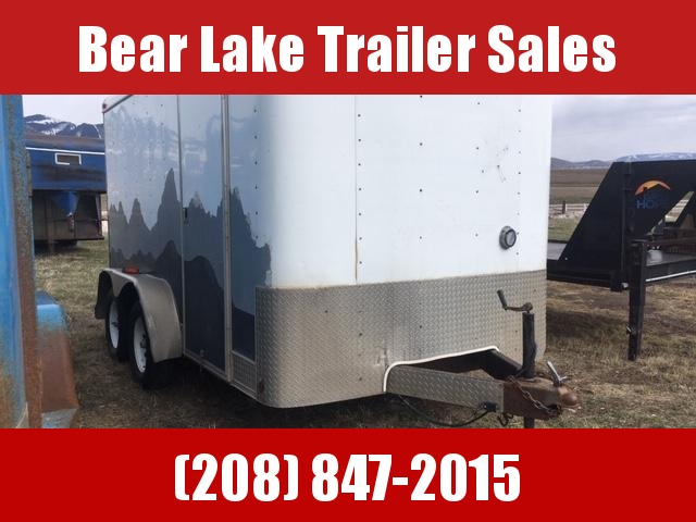 2002 Interstate 7x12 Enclosed trailer Enclosed Cargo Trailer