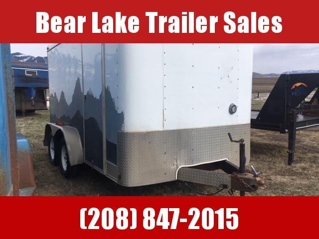 2002 Interstate 7x12 Enclosed trailer Enclosed Cargo Trailer