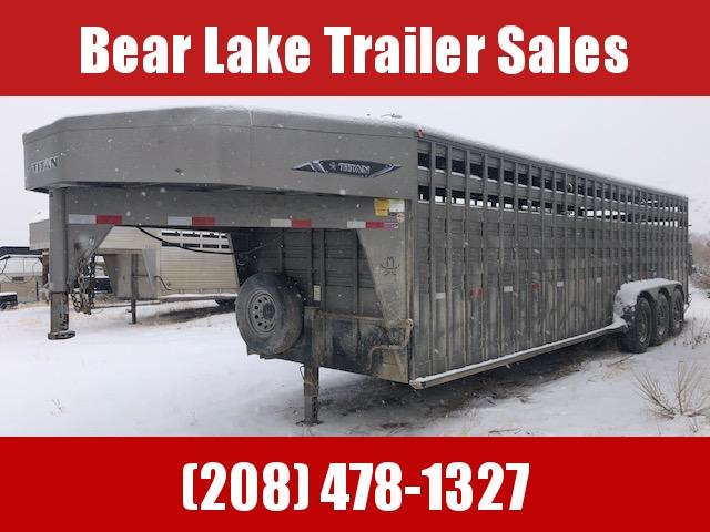 2018 Titan Trailers livestock trailer Livestock Trailer