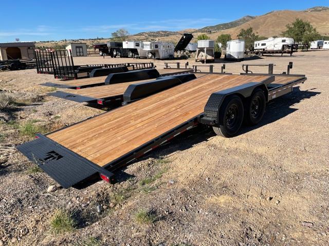2021 Teton Trailer 6+16 BP Tilt Utility Trailer