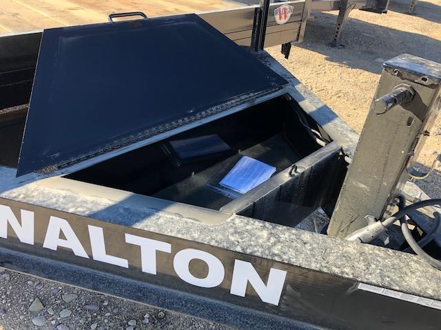 2021 Walton Trailers PF1420 Flatbed Trailer