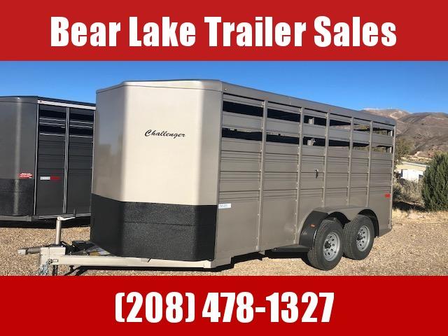 2021 Titan Trailers Challenger Stock Livestock Trailer
