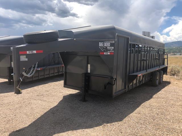2021 Big Bend 24' Stock Combo Livestock Trailer