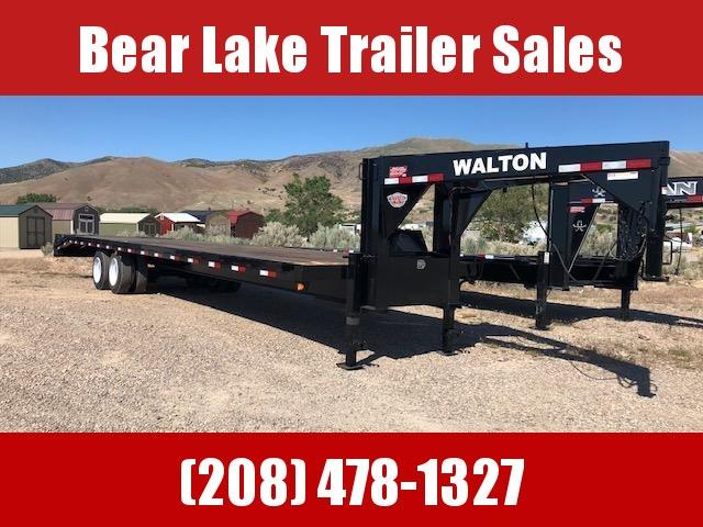 2022 Walton Trailers GB3035 Flatbed Trailer