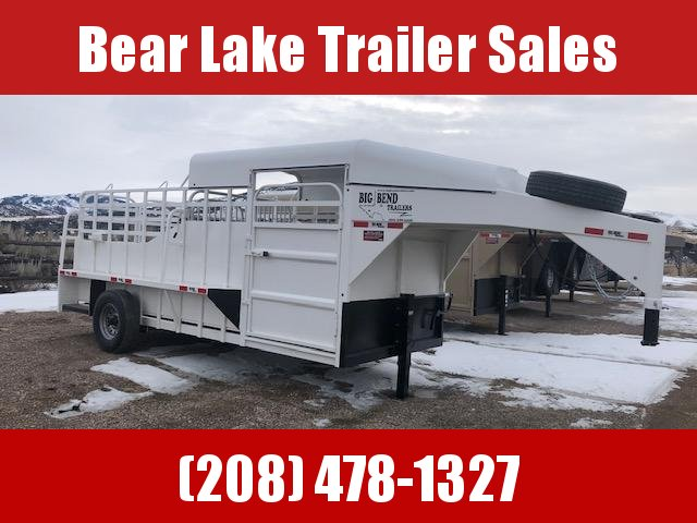 2021 Big Bend 16' Single axle stock Livestock Trailer