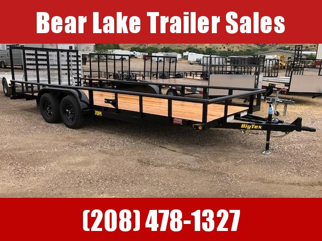 2021 Big Tex 70PI-18 Utility Trailer