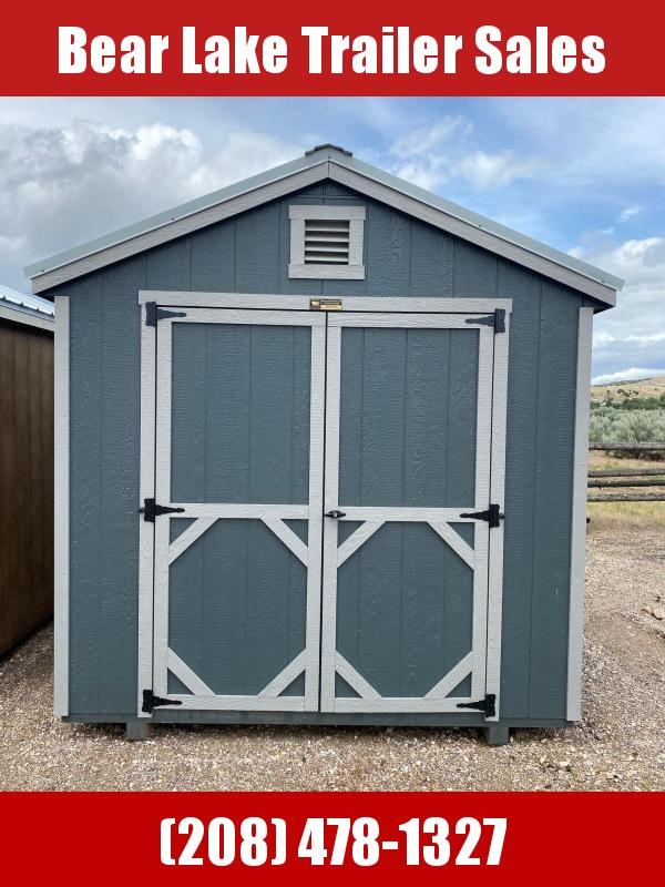 A-Frame 8' x 12' Shed by Montana Shed Center