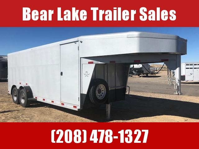 2020 Titan Trailers Gooseneck Cargo Trailer Enclosed Cargo Trailer