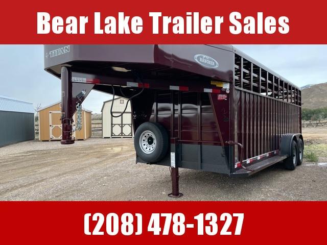 2022 Titan Trailers Rancher Livestock Trailer