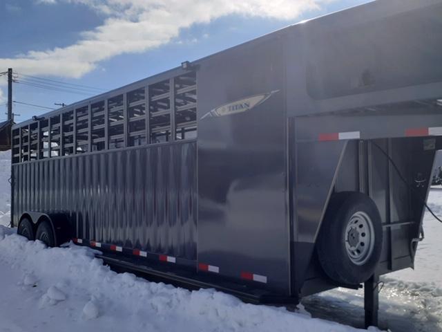 2020 Titan Trailers Rancher Stock Combo Livestock Trailer