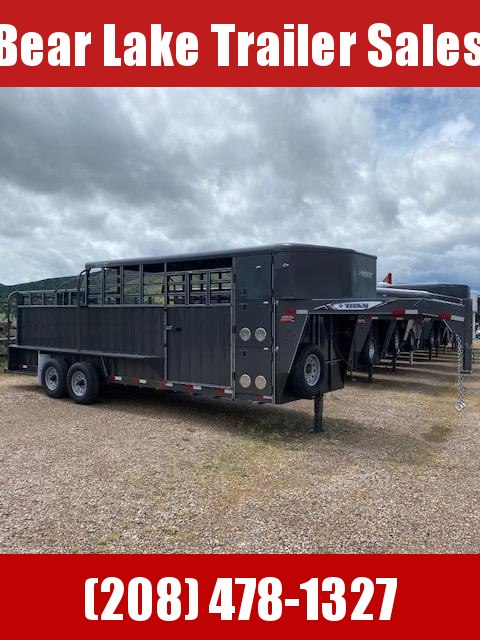 2020 Titan Trailers El Ranchero Stock Trailer