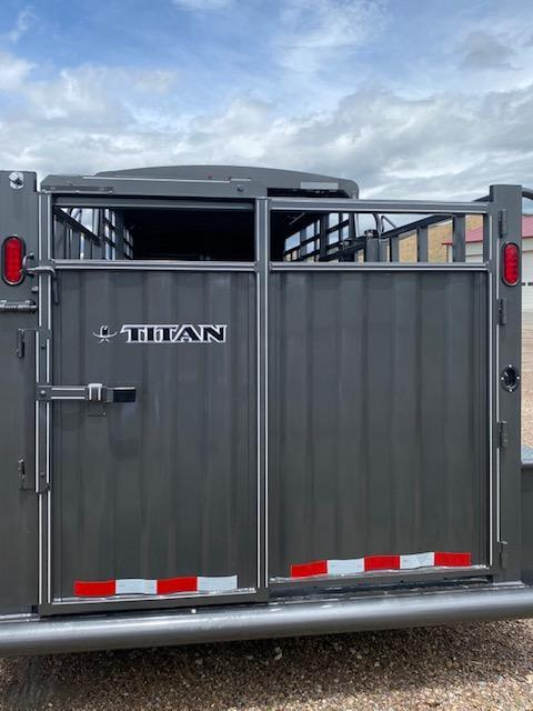 2020 Titan Trailers El Ranchero Stock Trailer