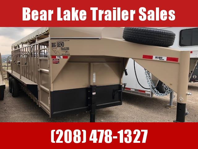 2021 Big Bend 24' stock trailer Livestock Trailer