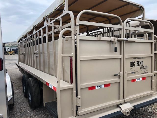 2021 Big Bend 24' stock trailer Livestock Trailer
