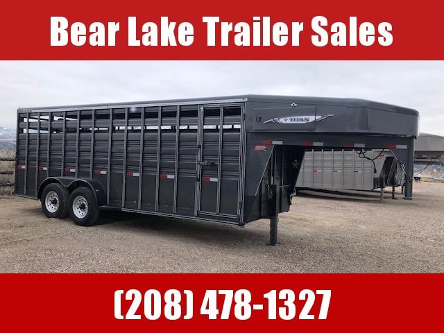 2021 Titan Trailers 20' Standard Stock Livestock Trailer