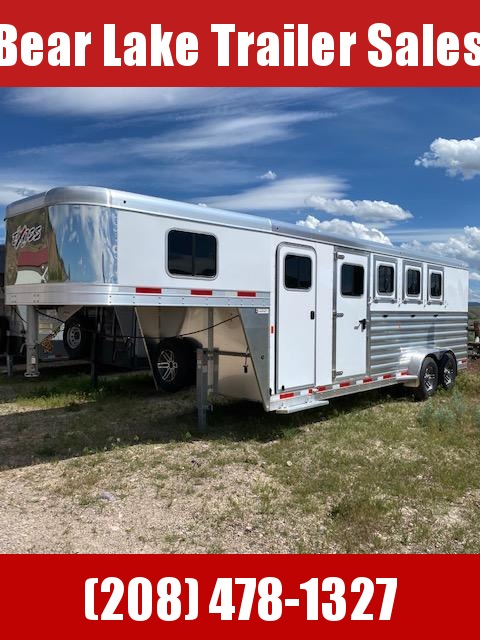 2020 Exiss Trailers 7400 4-Horse Trailer