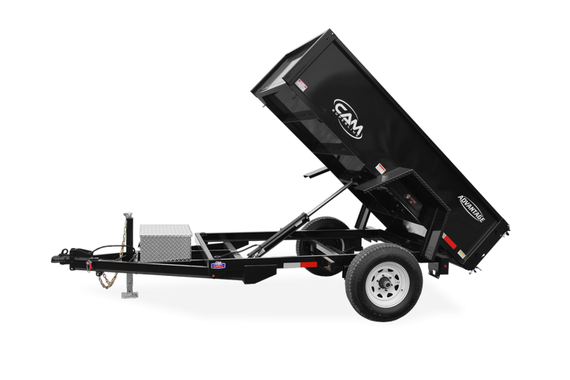 2021 Cam Superline P5508LPDT (Advantage Low Profile Dump Trailer 5x8)