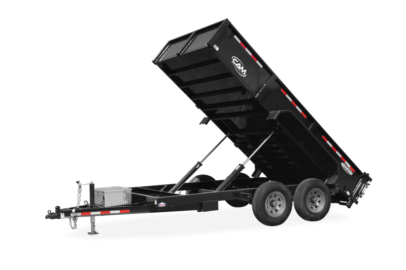 2021 Cam Superline P126812LPHDT (6 Ton Advantage HD Low Profile Dump Trailer 6.8x12 )