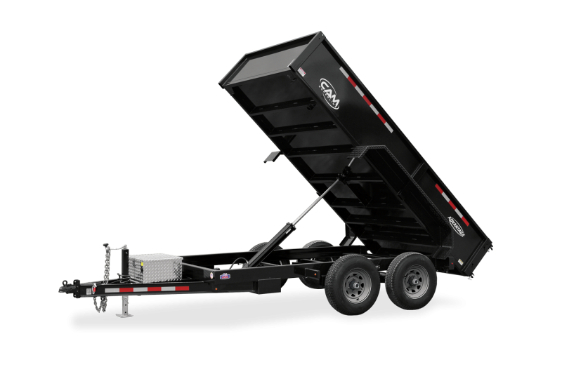 2021 Cam Superline P10610LPDT (10K Advantage Low Profile Dump Trailer 6x10)