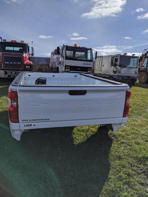 2020 Chevrolet Truck Bed - White