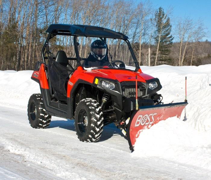 2020 BOSS COMPACT STRAIGHT-BLADE SNOW PLOW