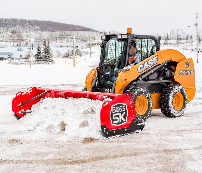 2020 BOSS SKID-STEER BOX Snow Plow