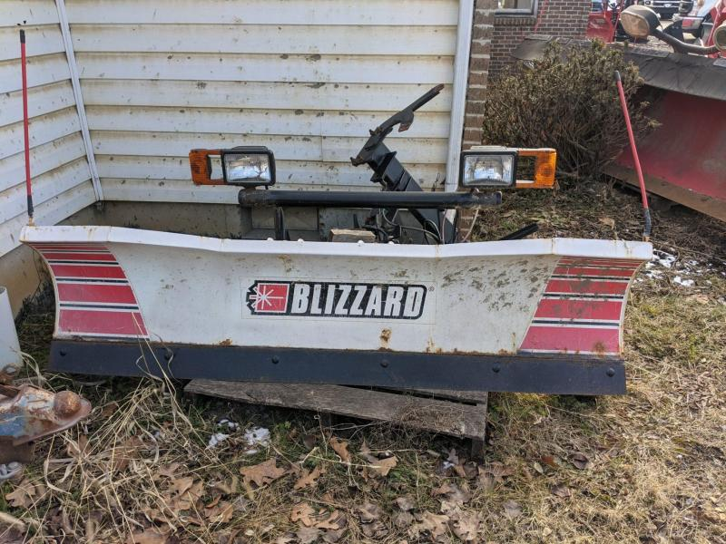 7' Blizzard Straight Blade Snow Plow