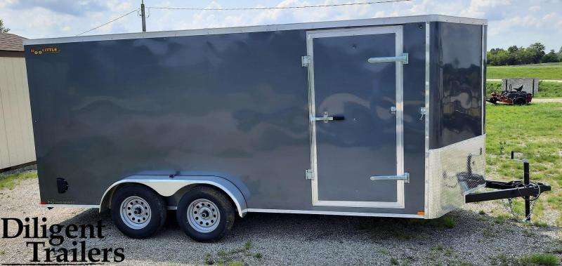 2022 Doolittle Trailer 7'x16' Tandem Axle 7K Enclosed Cargo Trailer