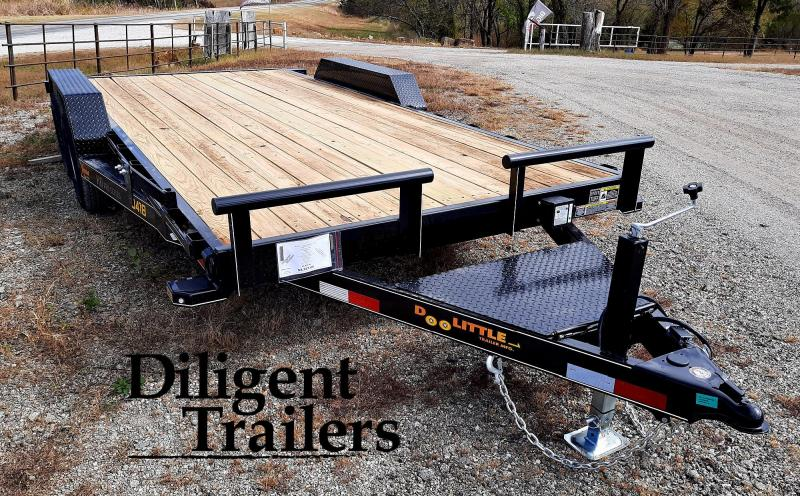 "2021 DOOLITTLE TRAILER 84""X18' XTREME 10K EQUIPMENT TRAILER"
