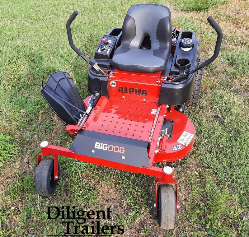 2021 BigDog Alpha 42 Zero Turn Lawn Mower