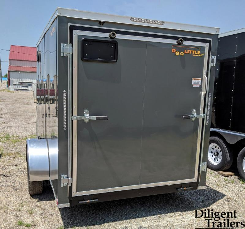 2021 Doolittle Trailer 6'x10' Single Axle 3K Enclosed Cargo Trailer