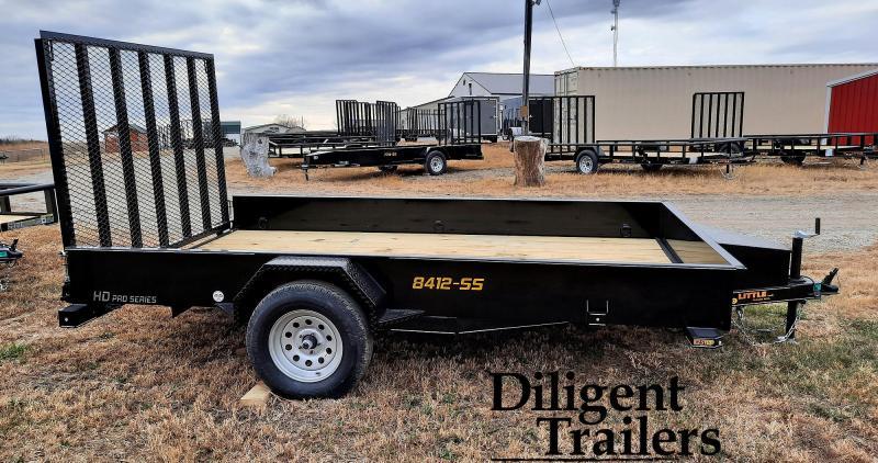 """2021 Doolittle Trailer Mfg 84"""" x12' SS Single Axle 3.5K Utility Trailer"""