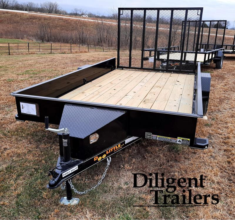 "2021 Doolittle Trailer Mfg 84"" x12' SS Single Axle 3.5K Utility Trailer"